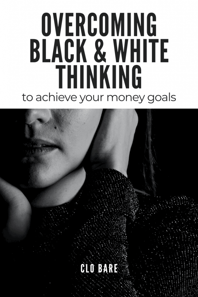 overcoming black and white thinking