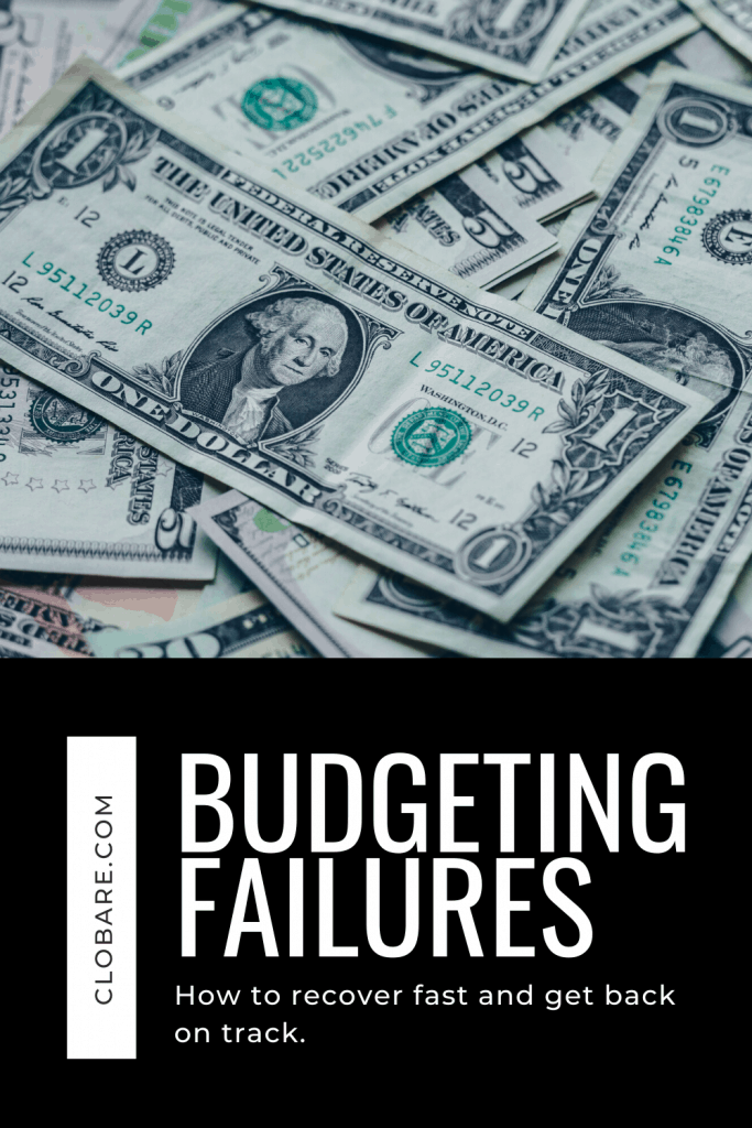 recovering from budgeting failures