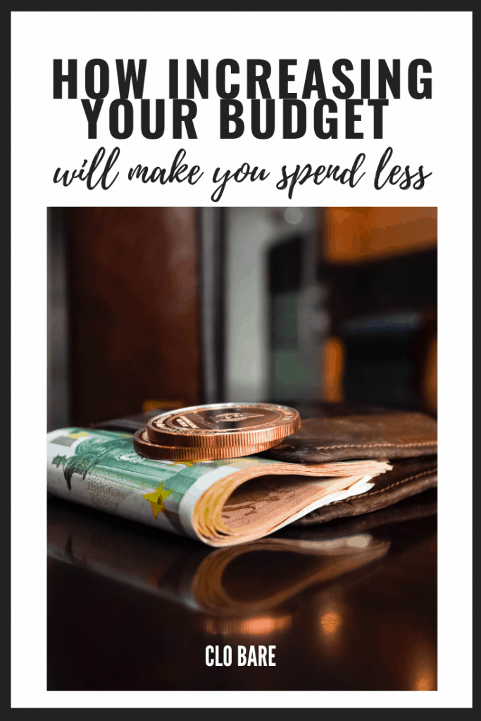 increasing your budget