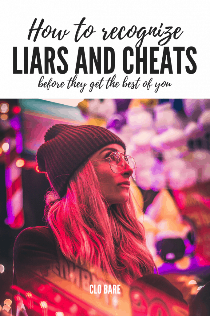 liars and cheats