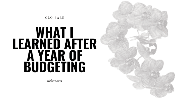 What Clo Bare learned after a year of budgeting, clobare.com