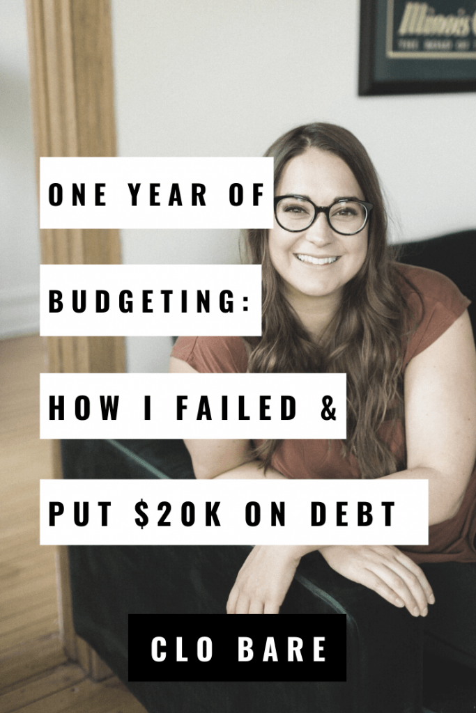 one year of budgeting