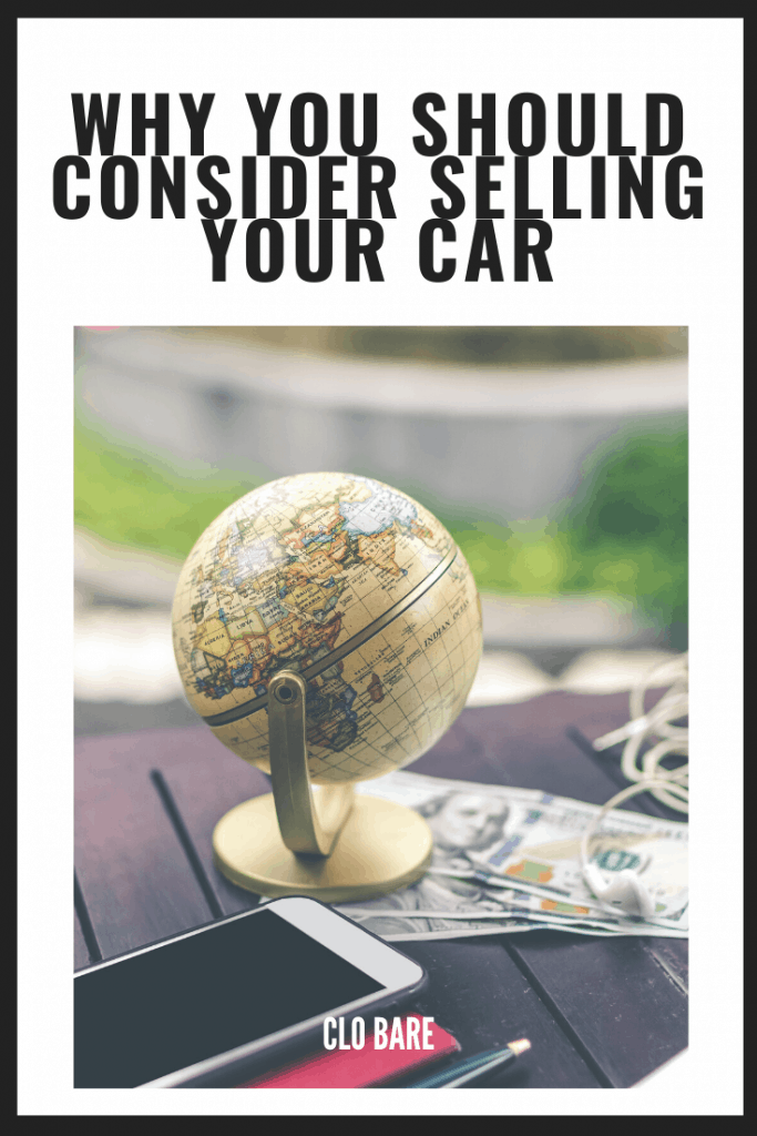 Why you should sell your car