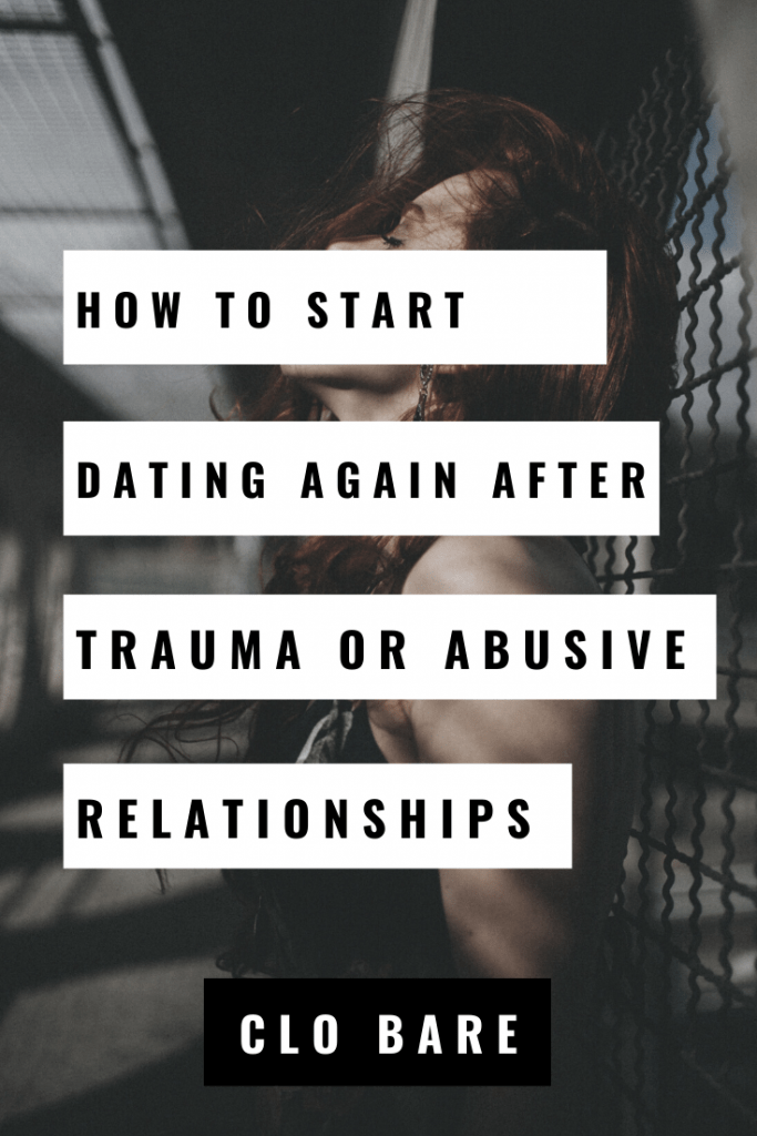 how to start dating again after abuse