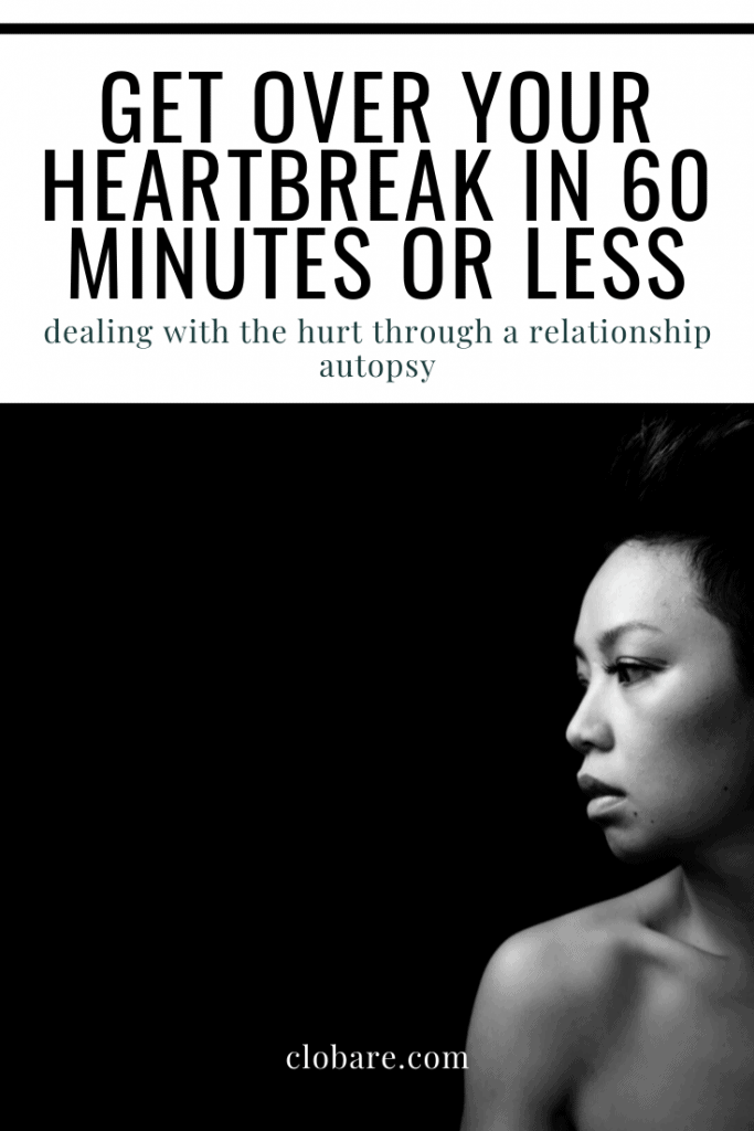 Get over your heartbreak in 60 minutes or less
