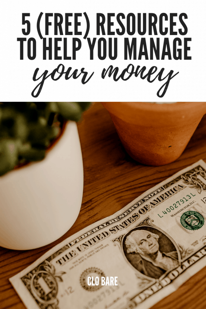 5 free resources to help you manage your money