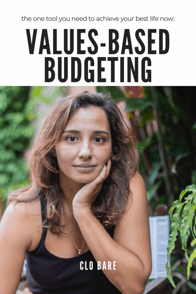 values based budgeting