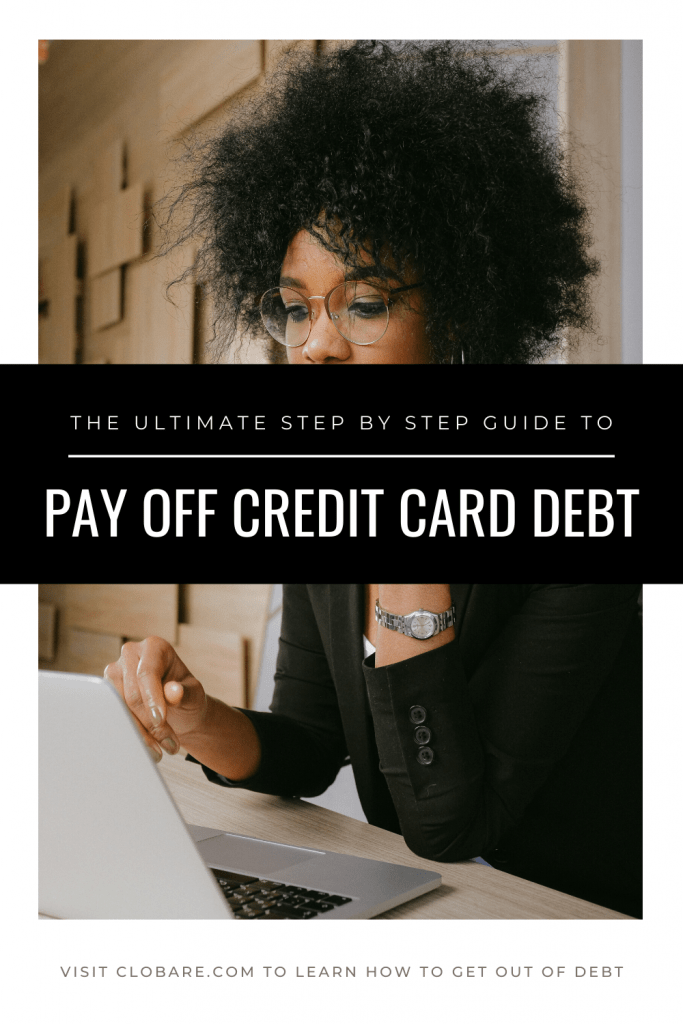 step by step guide to pay off credit card debt